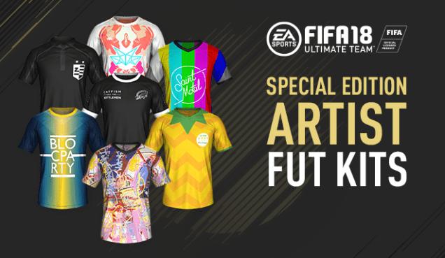 Fifa 18 special edition kits