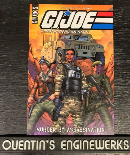 Indie Comic News, Sherlock Is On The Case: G.I. Joe Adds New Team Member, The Indie Comix Dispatch