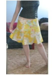 skirt tutorial pattern godet pillowcase