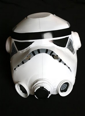 milk jug storm trooper helmet halloween costume diy