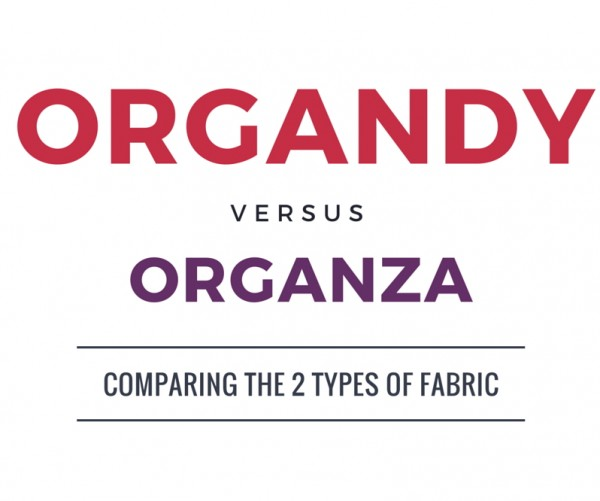 Difference Between Organza And Glass Organza