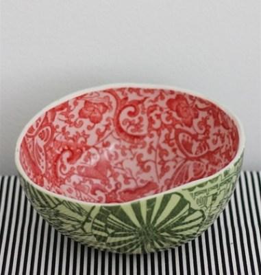 Porcelain Watermelon Bowls