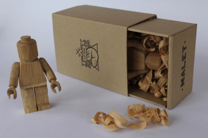 wooden minifig