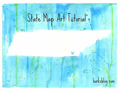 state map art barks blog