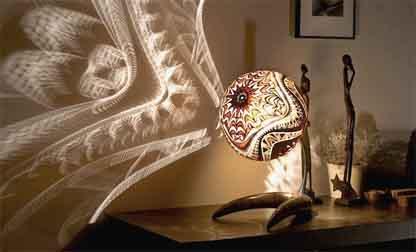 Calabarte Gourd Lamp