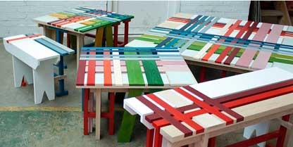 Plaid Bench – Raw Edges Design Studio