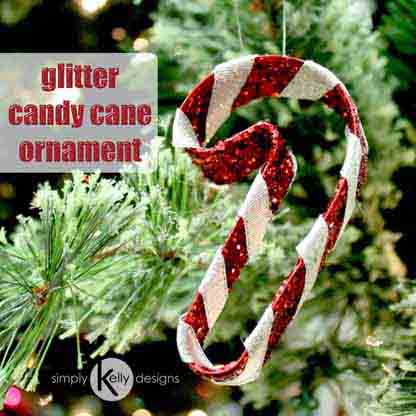 SimplyKellyDesigns_CandyCaneGlitterChristmasOrnament