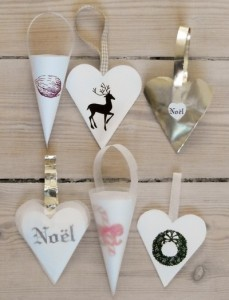paper-christmas-cone-ornaments
