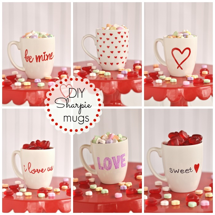 Sharpie Mugs For Valentines Day