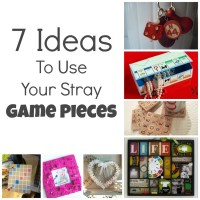 7 Ideas To Use Your Stray Game Pieces