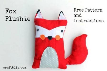 fox-plush