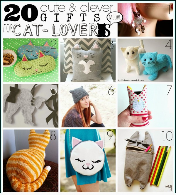 20 Handmade Gifts for Cat Lovers