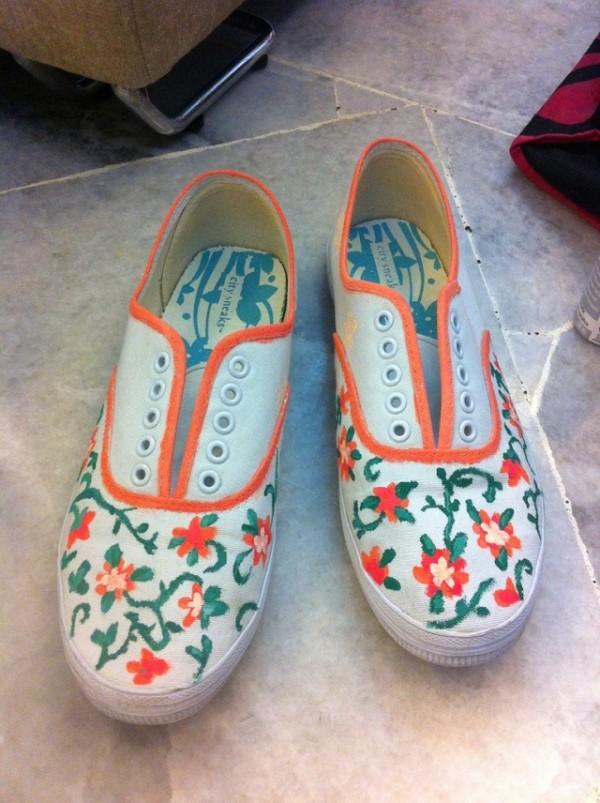 floral-shoe