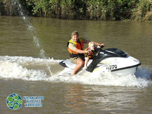 Steve and Robert on Jet Ski