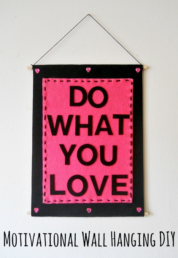 Wall Hanging Quotes Easy DIY Quote Wall Hanging – Indie Crafts Wall Hanging Quotes