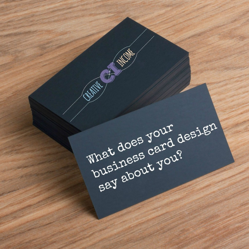 What does your business card design say about you indie crafts if you have got a handmade business or a business of any sort really there are times when you will be giving out your information to someone and for that colourmoves