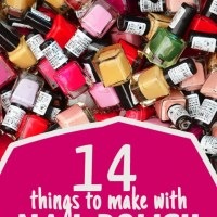 14 Nail Polish Crafts