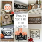 8 Spooky Fun Signs To Make For Your Halloween Decor