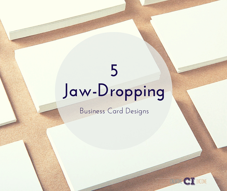 5 Jaw-Dropping Business Card Designs – Indie Crafts