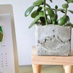 DIY Mid Century Modern Plant Stand