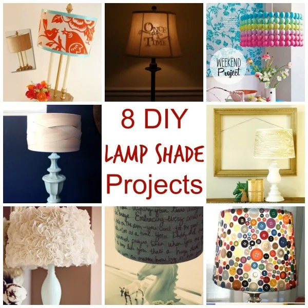 some craft ideas 8 diy lamp shade projects crafts 2971