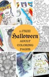 11 Free Halloween Adult Coloring Pages