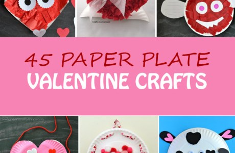 The Ultimate List of Paper Plate Valentine Crafts for Kids