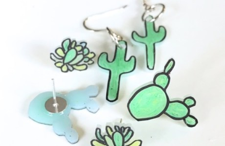 DIY Your Own Cactus Earrings
