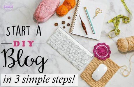 Start A DIY Blog