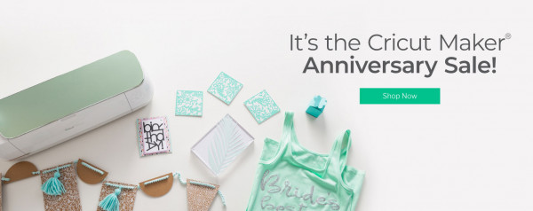 It's the Cricut Anniversary Sale! – Indie Crafts