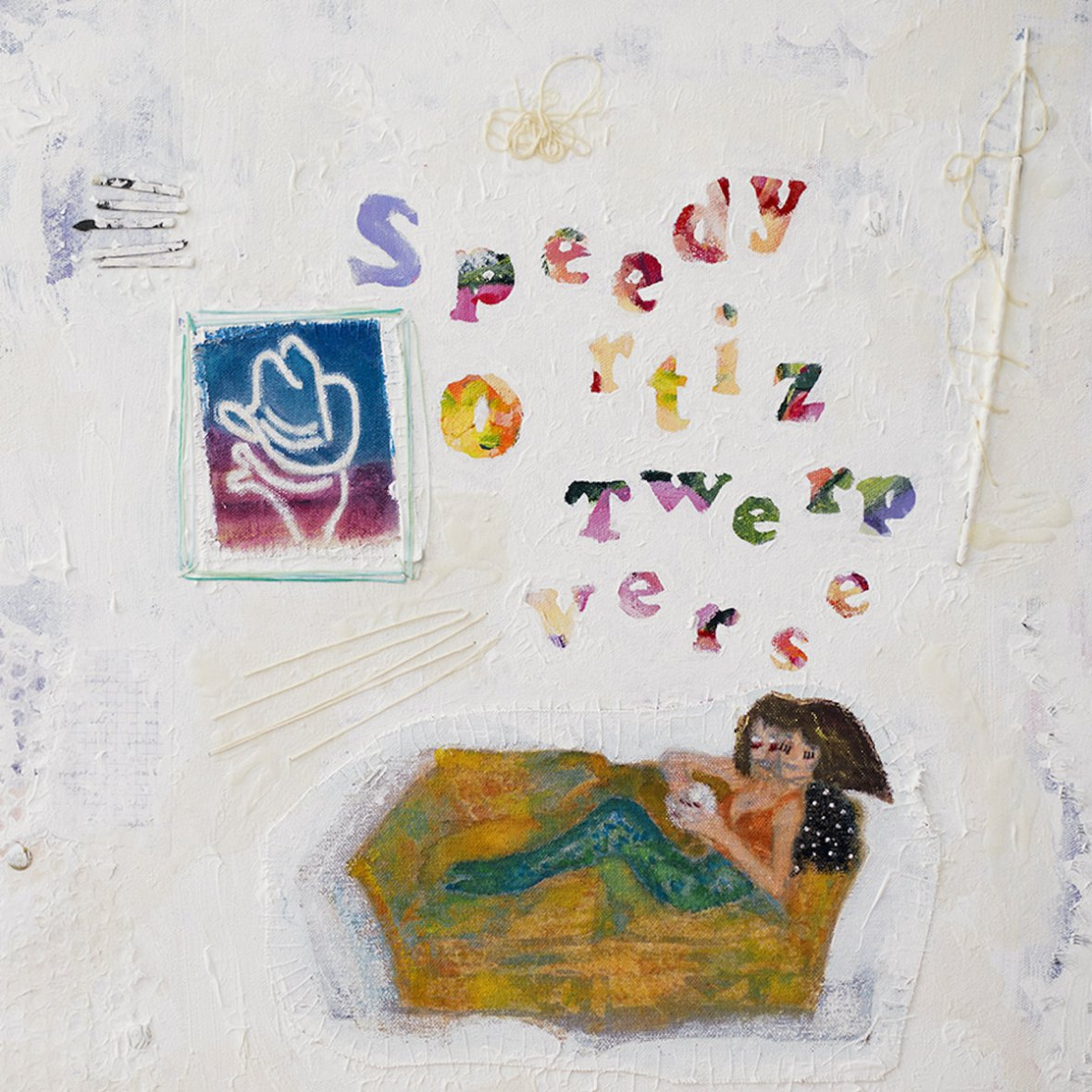 Cover art for Speedy Ortiz new album Twerp Verse