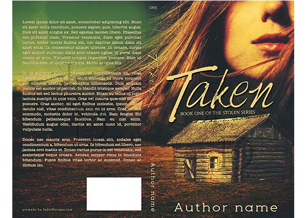 006 Premade book cover design by IndieDesignz.com