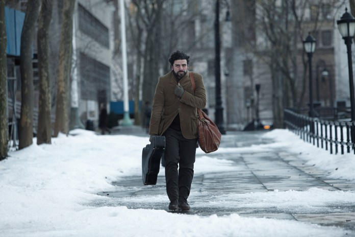 Oscar Isaac winter in Joel and Ethan Coens INSIDE LLEWYN DAVIS