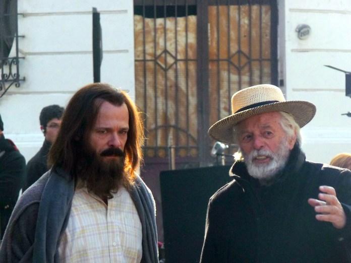 Brontis Jodorowsky (Left) and Alejandro Jodorowsky, Photo by Pascale Montandon-Jodorowsky
