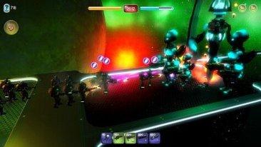 alien hallway - screenshot 1