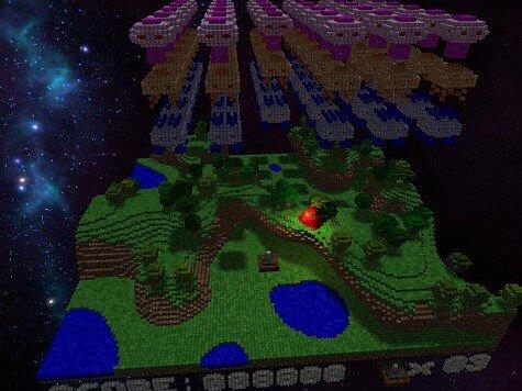 Voxeliens screenshot 2