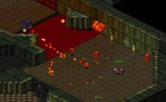 Snorms - an isometric shooter - screenshot