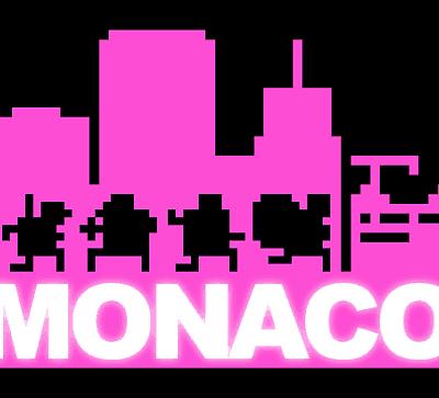 Monaco logo Pink