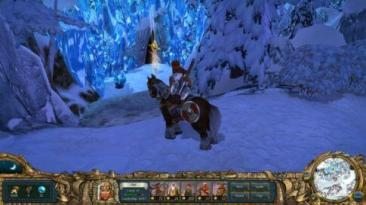 kings bounty warriors of the north - winter screenshot