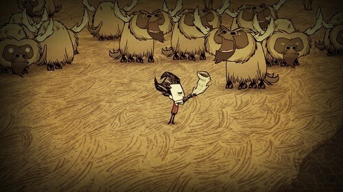 Don't Starve - official screenshot - Beefalo Whisperer