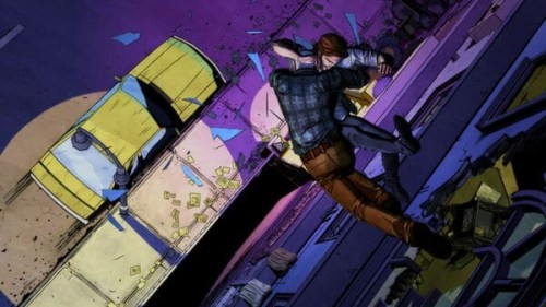 the wolf among us - action screenshot