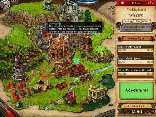 Desktop Dungeons Map screenshot