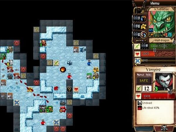 Desktop Dungeons screenshot - winter