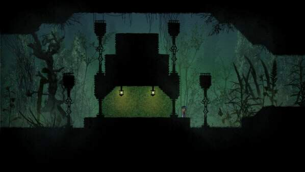 Knytt Underground - game screenshot - Mi