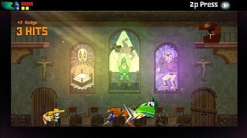 guacamelee game combat screensot