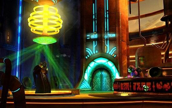 Shufflepuck Cantina Screenshot - Disco