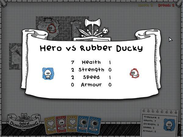 Guild of Dungeoneering alpha stats screenshot