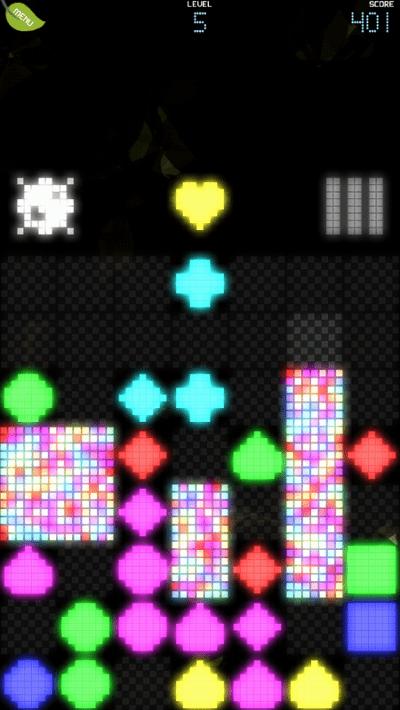 Pixel Garden screenshot - level 5