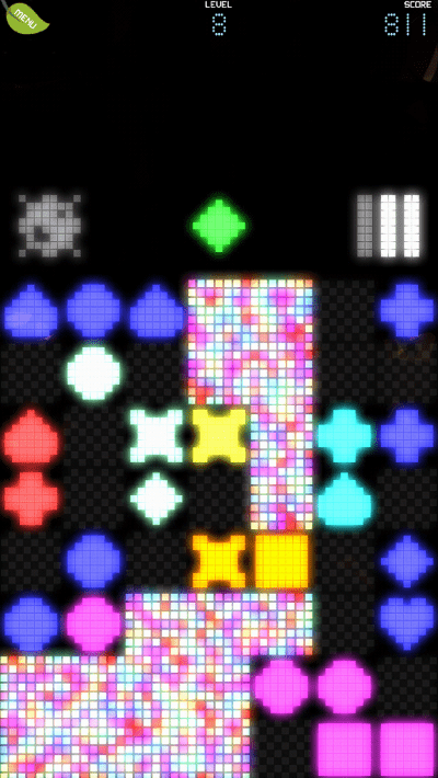 Pixel Garden screenshot - level 8