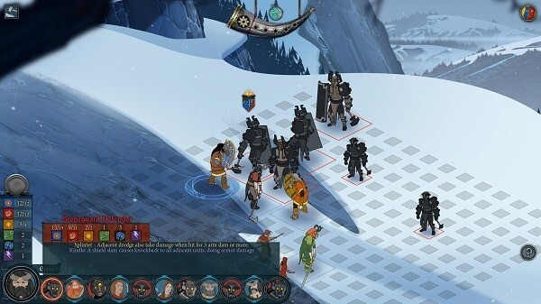 The Banner Saga (turn-based combat)